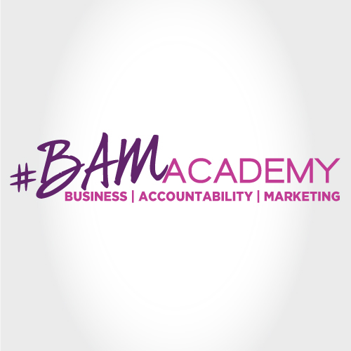 BAM Academy Logo- Coach with Amanda